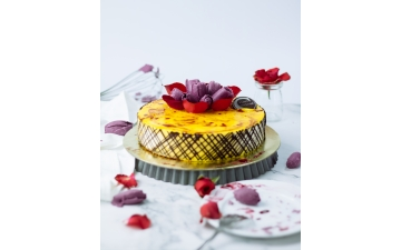 PASSION AND BLUEBBERRY MOUSSE 8P