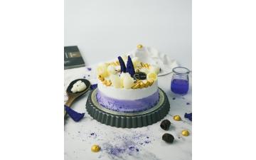 VANILLA & LAVENDER SPONGE CAKE 8/10P
