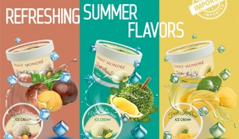 NEW ICE CREAM FLAVORS TO WELCOME 2021 SUMMER