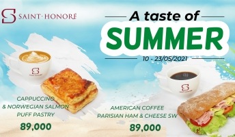 [2021.JUN] A TASTE OF SUMMER  - NEW COMBO  FOR CUSTOMERS