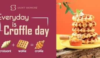 [NEW PRODUCT] CROFFLE - THE ART OF COMBINAISON BETWEEN CROISSANT & WAFFLE