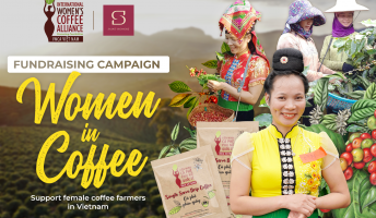Saint - Honore x IWCA Vietnam - Fundraising project ''WOMAN IN COFFEE