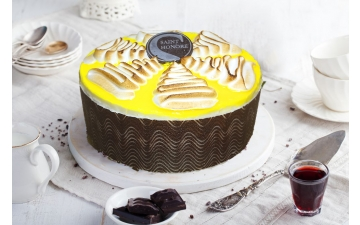 LEMON MERINGUE CHEESE CAKE 6P