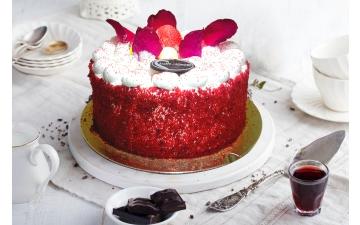 Ice Cream Cake Fruits Cake 6/8p