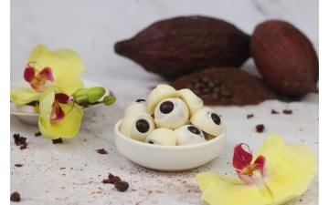 WHITE CHOCOLATE RASPBERRY 100GR