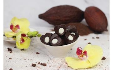 DARK CHOCOLATE CARAMEL 100GR