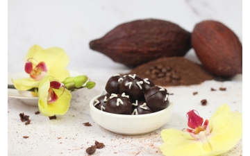 DARK CHOCOLATE CHERRY 100GR