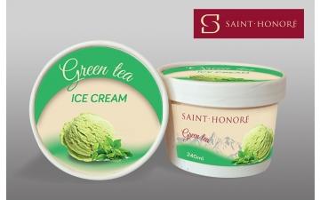 GREEN TEA ICE CREAM 240ML