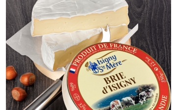 BRIE D'ISIGNY CHEESE 100GR