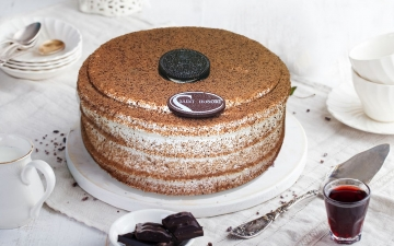 OREO VANILLA ICE CREAM CAKE 6P