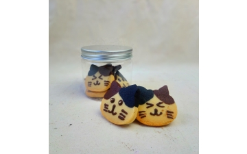 KITTEN CHOCO & VANILLA COOKIEBOX